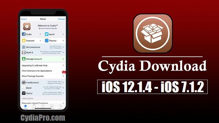 iOS 12.1.4 Cydia Installer for download Cydia iOS 12.1.4