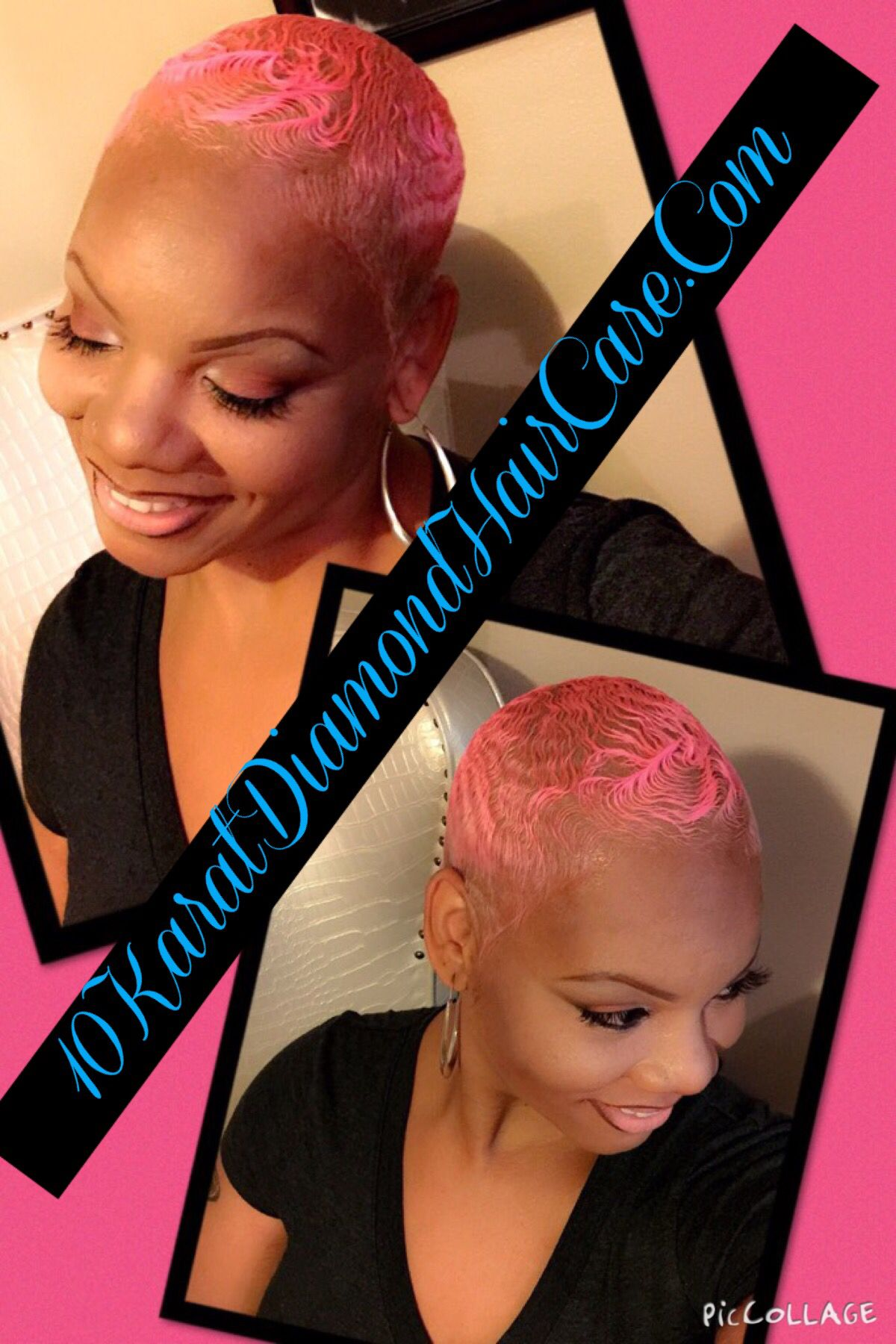 Pink Hair Thecutlife Twa Crafted By 10k Pinterest Pink Hair
