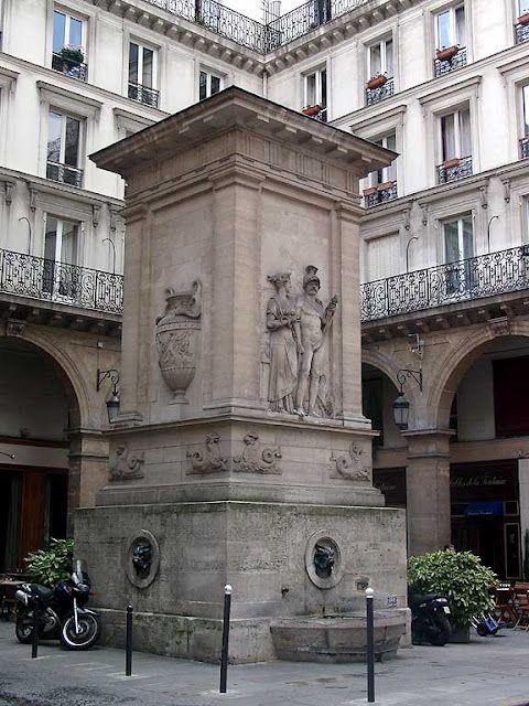Fontaine du Gros-Caillou or Fontaine de Mars by Louis-Simon Bralle ...