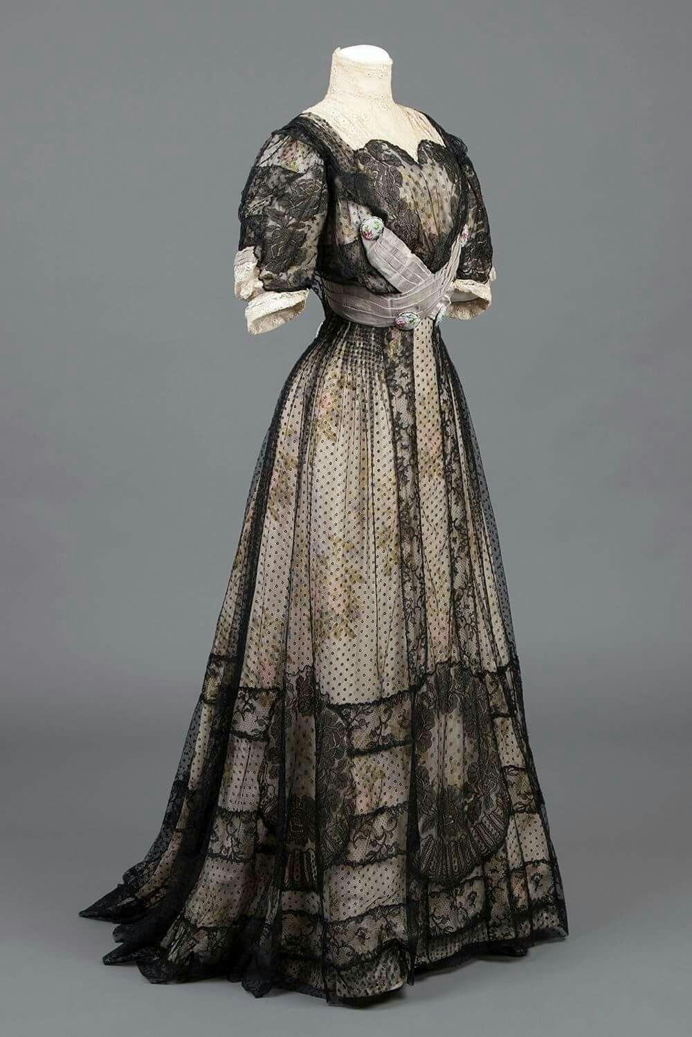 1900s Fashion, Edwardian Fashion, Edwardian Gowns, Vintage Fashion, Vintage  Beauty, Silk 4a868bb59669