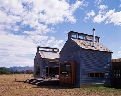 Retreat house - kiln house 1 - designed from two old tobacco kilns | Sally  Draper
