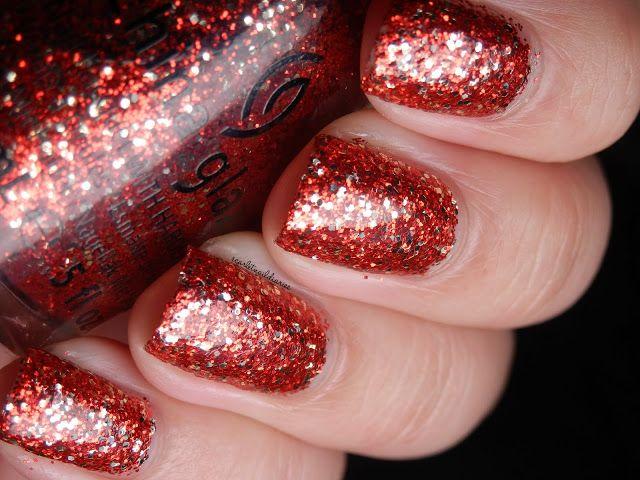 The Scarlet Nail Diaries: China Glaze Holiday Joy 2012: Pure Joy