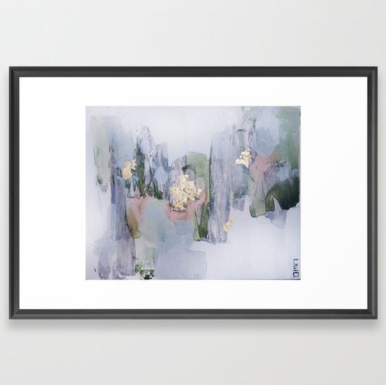 Framed abstract art prints for less than the cost of framing. This ...