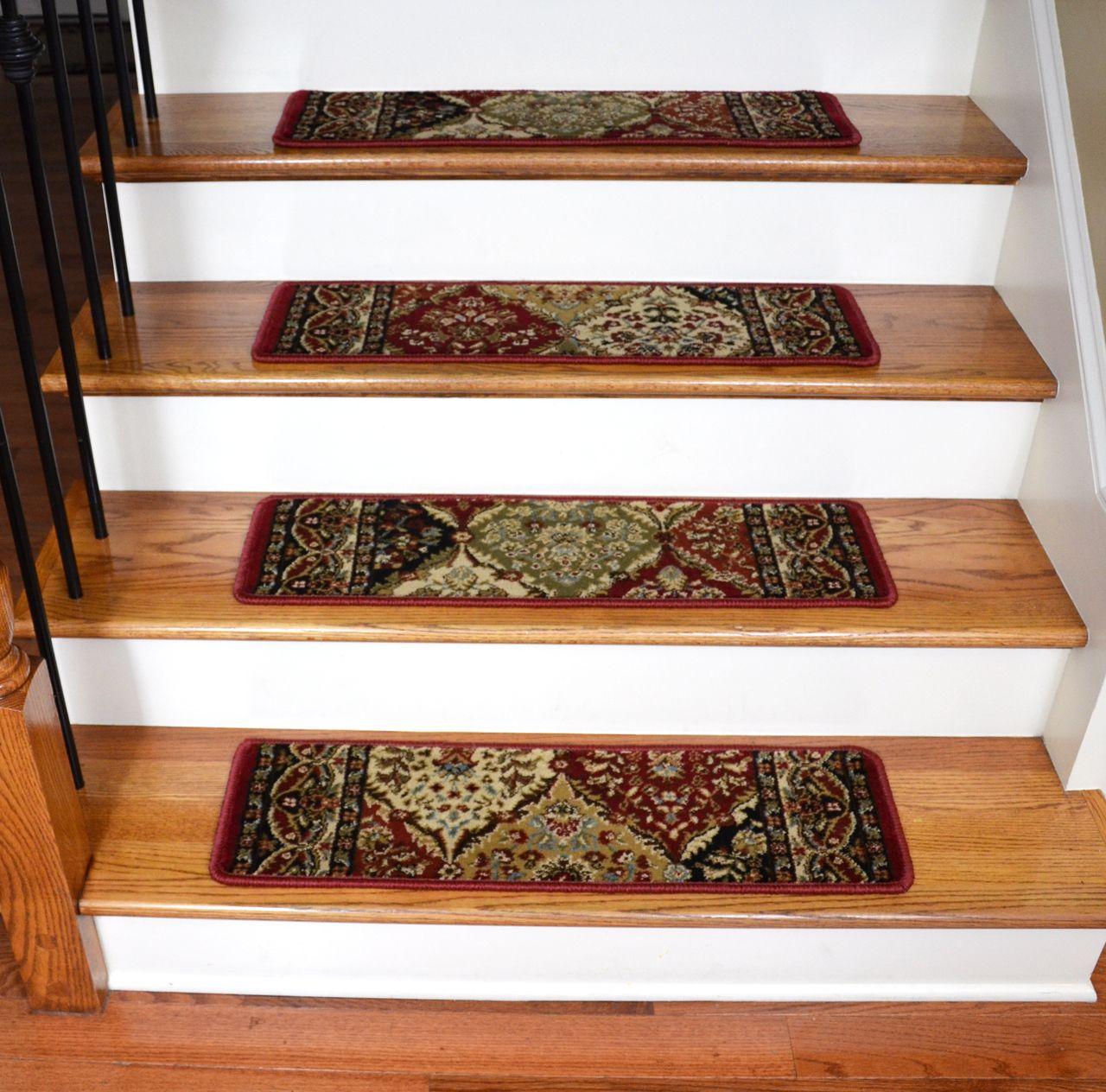 Best Dean Non Slip Pet Friendly Carpet Stair Step Cover Treads 400 x 300