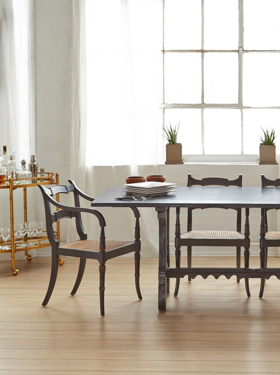 Malta Dining Table Black