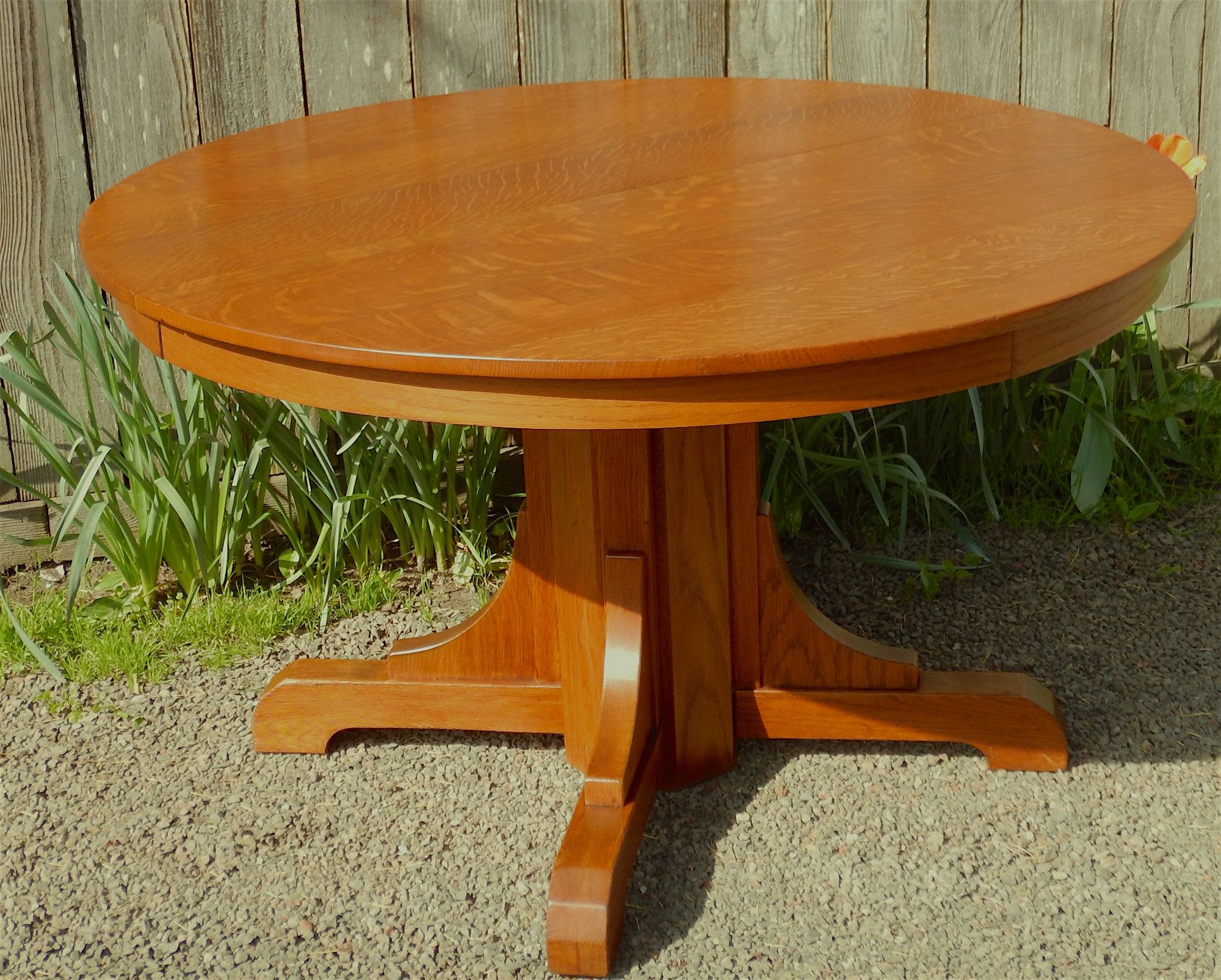 Gustav Stickley Round Dining Table