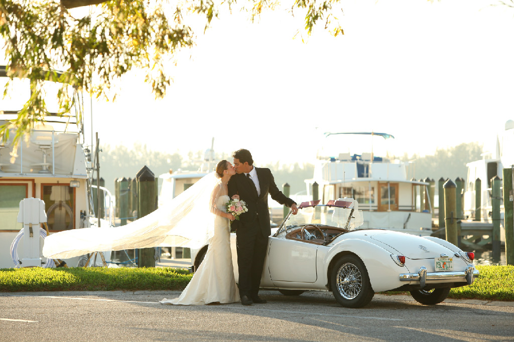 The boats, the car, the couple, the breeze...this photo is perfection! Eventfully, Jacquelyn xo