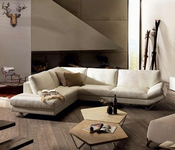 Natuzzi Relevé 2009 corner sofa* Divani, Idee