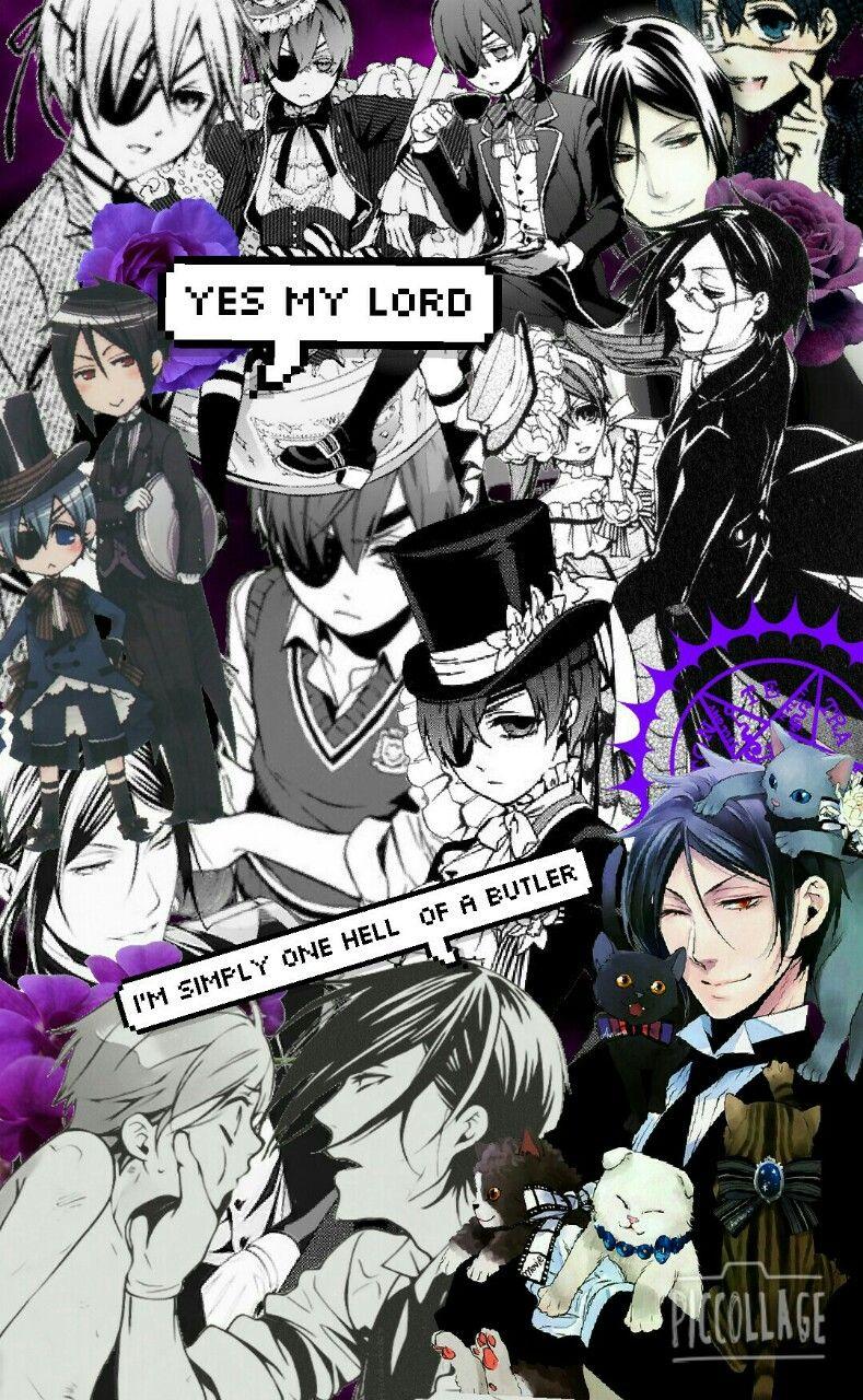 Kuroshitsuji iphone wallpaper tumblr - Black Butler Ciel
