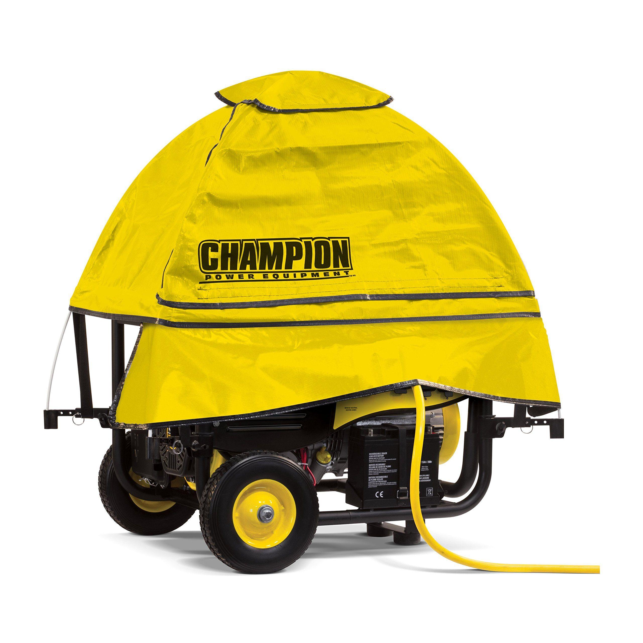 Champion storm shield severe weather portable generator