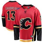 mothersday  AdoreWe  Shop.NHL.com Teamware   Logo - Fanatics Branded Youth  Calgary Flames Johnny Gaudreau Fanatics Branded Red Home Breakaway - Player  ... c8c861a59