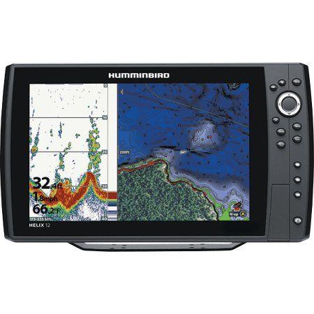 Humminbird 410370 1 Helix 12 Chirp Di Gps G2n Sonar Fishfinder