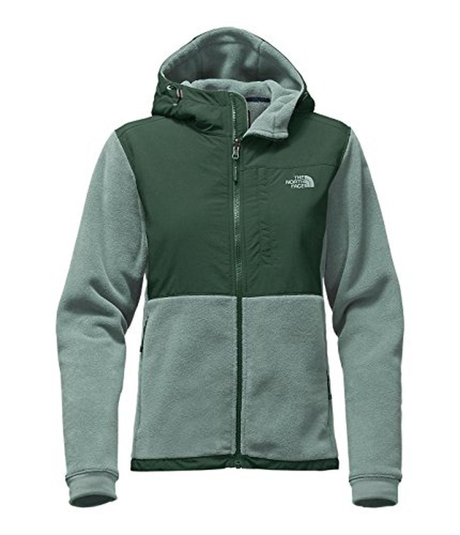 The North Face Women S Denali Hoodie Large Balsam Green Darkest Spruce North Face Denali Hoodie The North Face Fleece Jacket Womens [ 1744 x 1500 Pixel ]