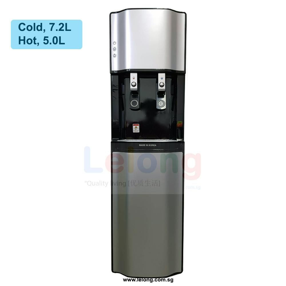 Pts 2100 Floor Stand Hot Cold Filtered Water Dispenser Korea Ultra Filtration 4 Filters Wa Filtered Water Dispenser Water Purification System Water Dispenser