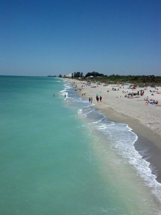Venice Beach Florida Just South Of Sarasota