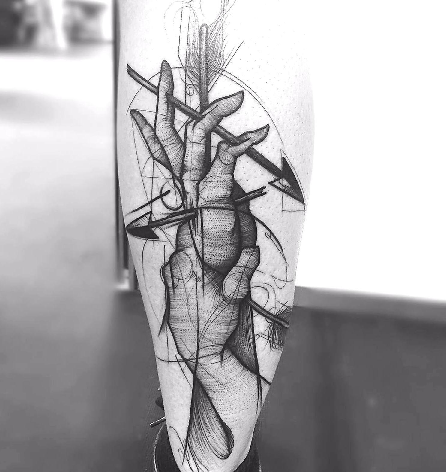 Tattoo art by Frank Carrilho