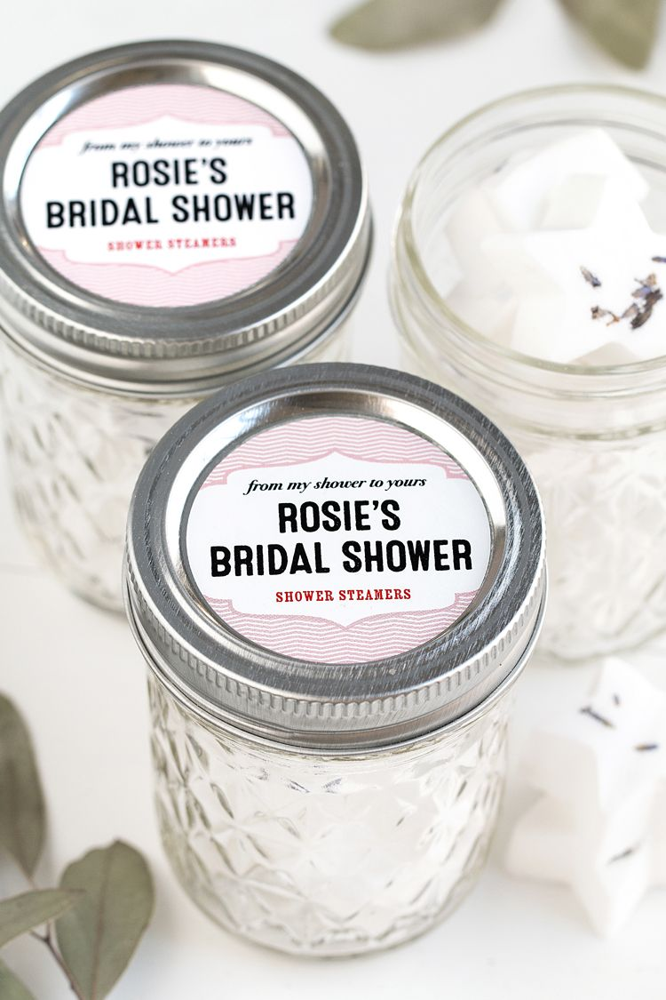Bridal Shower Favors: Aromatherapy Shower Steamers | Bridal showers ...