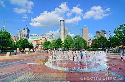 Atlanta Ga, Centennial-Olympic Park by Sean Pavone, via Dreamstime