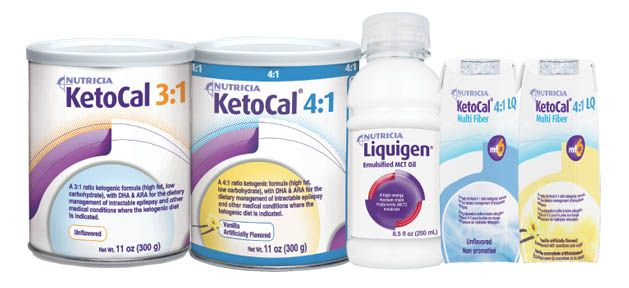 Nutricia KetoCal & Liquigen Ordering Information | Our