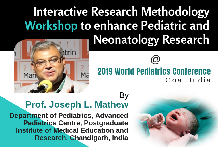 Since the 2019 World Pediatrics Conference (2019WPC) is