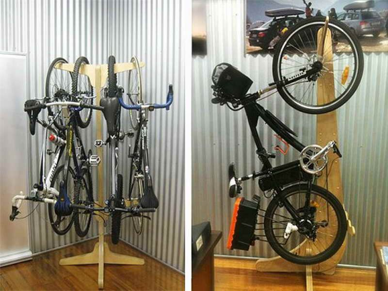 Flexible Bike Storage For Inside Bike Shed   Eg: No Problems With Anchor  Points When