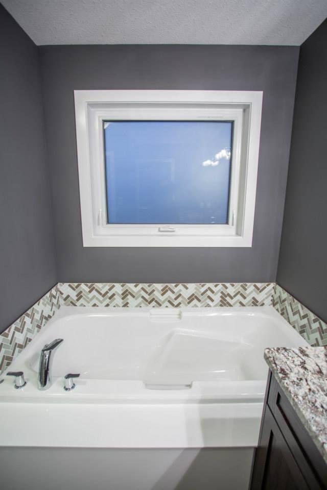 Creative tile tub surround   Harmony Builders Custom Tubs ...