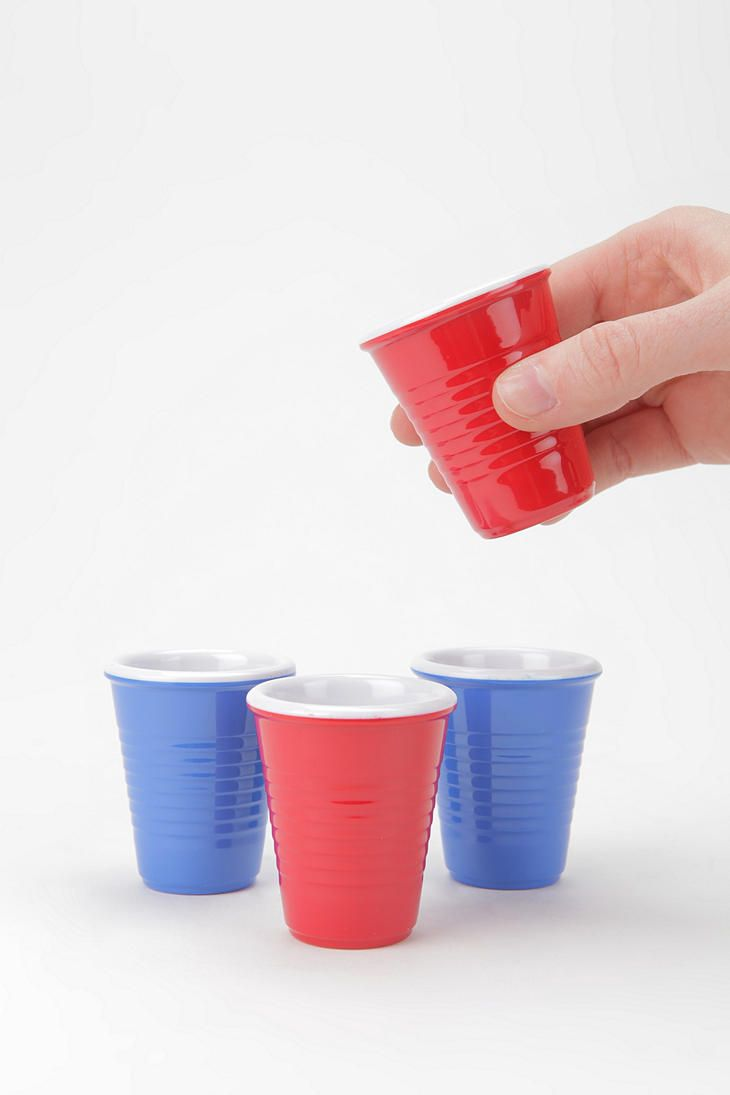 Shotglass sized Red Solo Cups