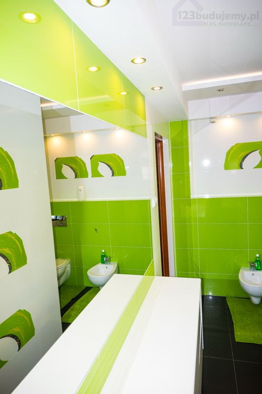 Pin Na Zielona łazienka