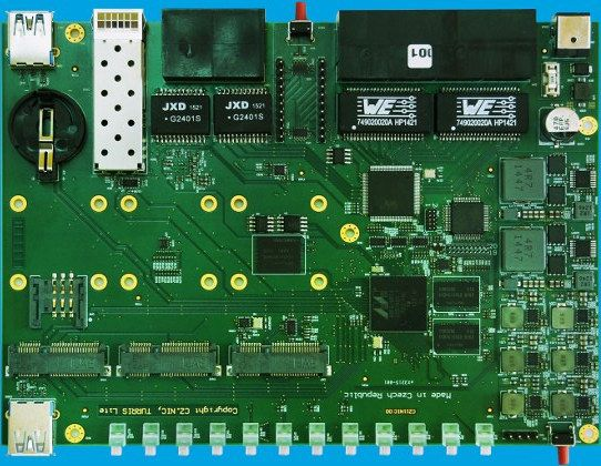 Turris Omnia is a Feature-Packed OpenWRT Router Board Powered by