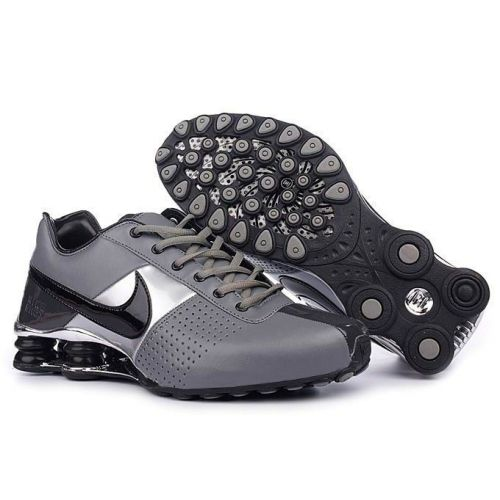 Nike Shox OZ Large Hook Grey Black Silver Men Shoes 7959