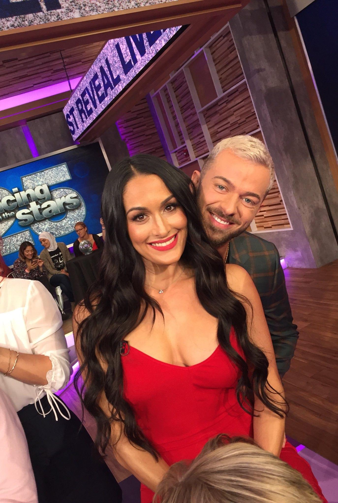 Nikki Bella \u0026 Her Dance Partner Artem Chigvintsev Season 25
