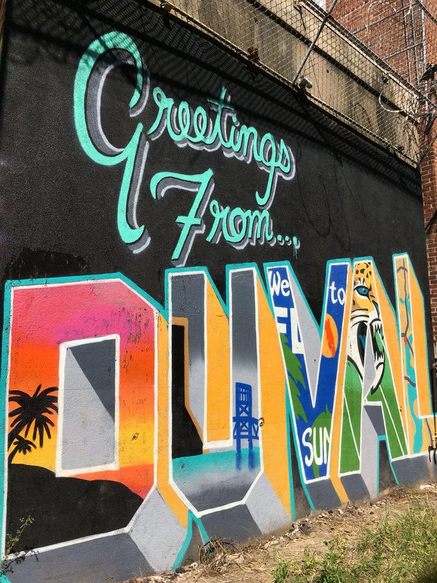 Local Jacksonville Graffiti Behind Florida Theatre Florida Art Jacksonville Florida Jacksonville Fl