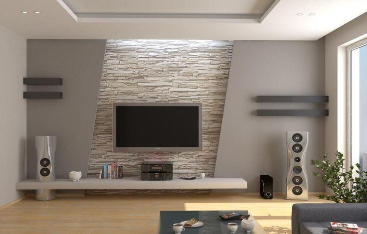 736 470 tv pinterest wohnzimmer tv w nde und. Black Bedroom Furniture Sets. Home Design Ideas