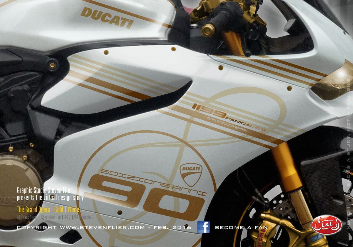 Virtual Tuning Ducati Panigale 1199 / 1299 - Grand Opera Sopran
