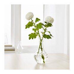 IKEA - VILJESTARK, Maljakko, Maljakon ainutlaatuisen muotoilun ansiosta se näyttää kauniilta kukkien kanssa tai ilman.