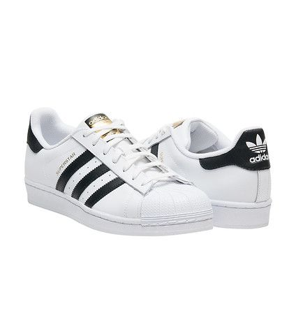 huge discount 5e571 7edc5 adidas Originals SUPERSTAR Trainers white core black Zalando