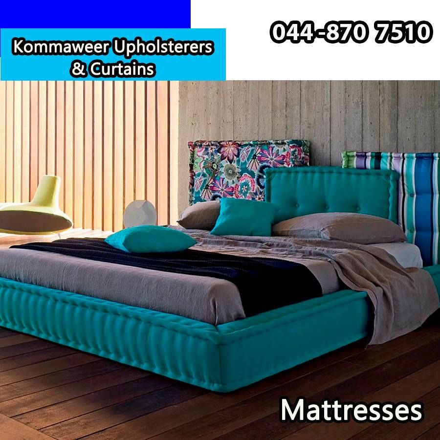 At Kommaweer We Can Reupholster Your Old Mattresses To Make Them Look Brand  New Again, Have A Look At This Upholstered Mattress Idea And Let Us Know  What ...