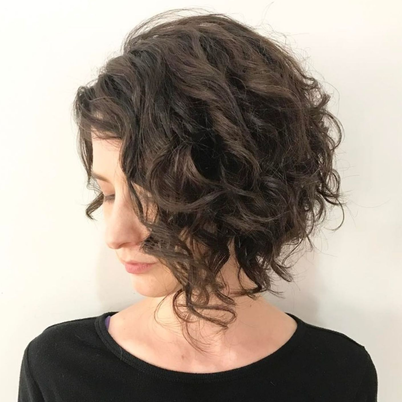 65 different versions of curly bob hairstyle in 2019