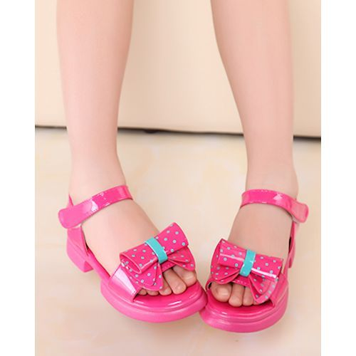 Cute hot pink dotty girls summer pageant party dress sandals shoes cute hot pink dotty girls summer pageant party dress sandals shoes sku 133731 mightylinksfo Choice Image