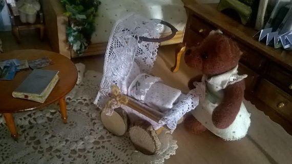 Miniatur stubenwagen puppenhaus unique von minis you auf etsy