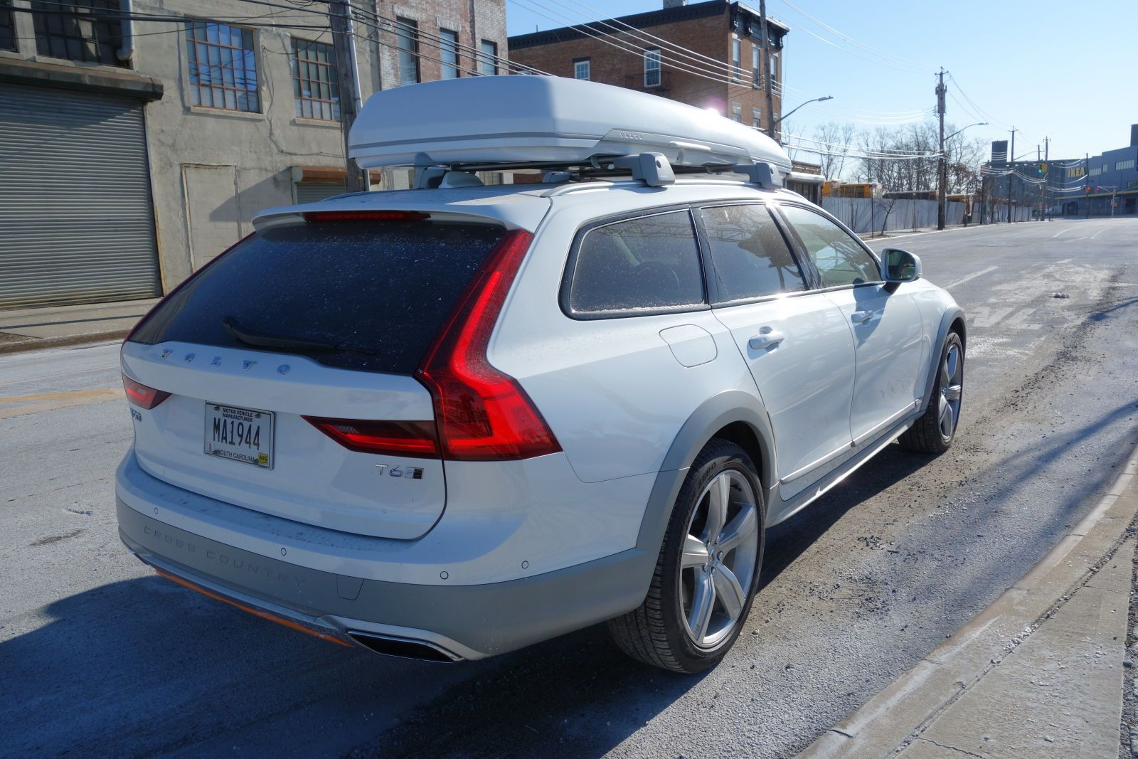 The Volvo V90 Cross Country Has Orange Seatbelts And A 3 300 Cargo Box And I Love It In 2020 Volvo Volvo Wagon Volvo Ocean Race