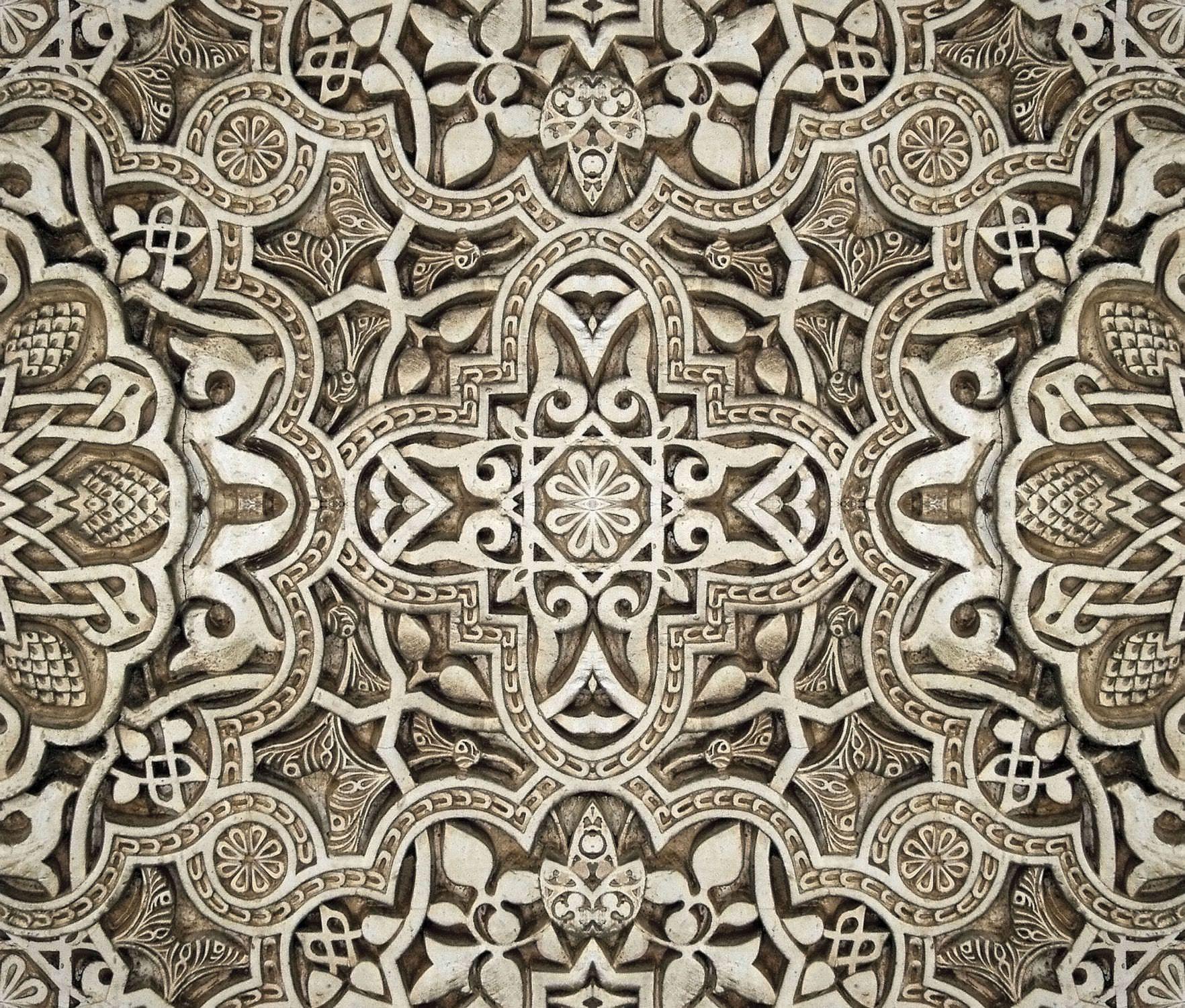 Papier Peint Oriental En Vinyle A Motif A Effet Dimensionnel