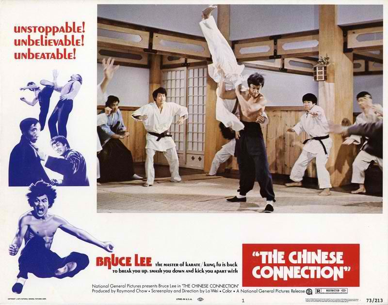 Bruce lee chinese connection stripper scene does