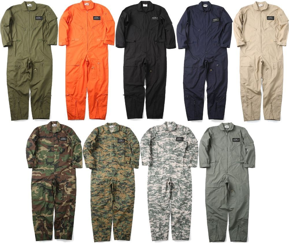Military Uniform Flight Suit Air Force Style Fighter