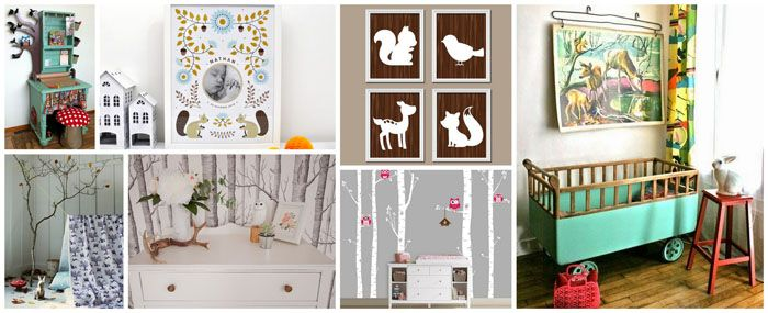 Idee Chambre Pour Enfant Foret Enchantee Chambre Bebe Foret