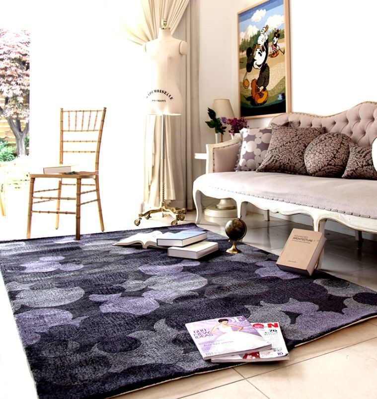 Mickey Mouse Rug Large Floor Japanese Disney Decor Bed Living Room