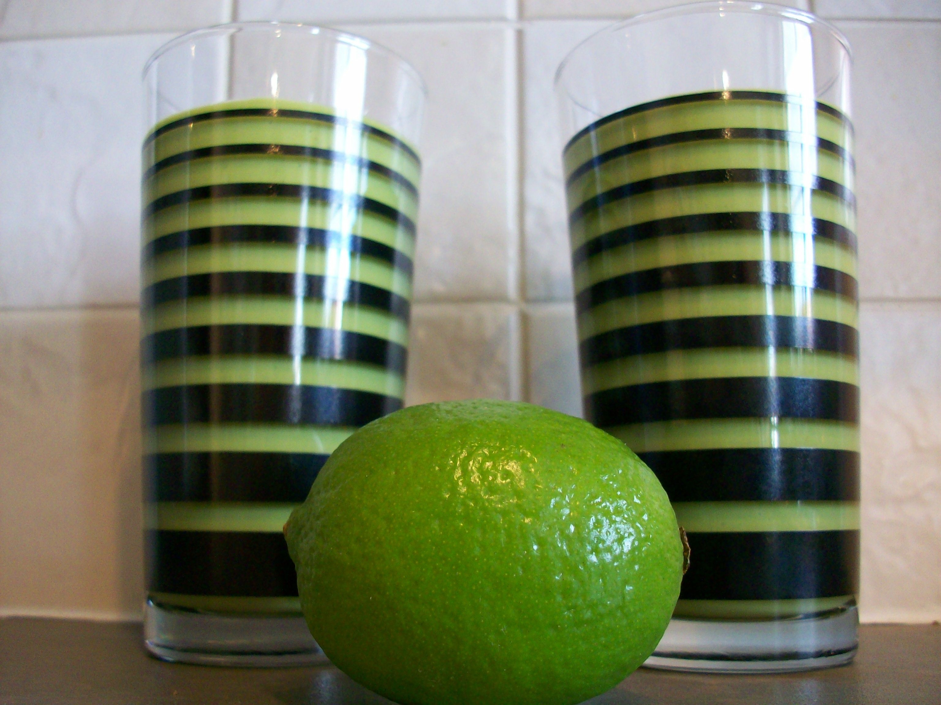 Lime and Ginger Drink: Immune Booster