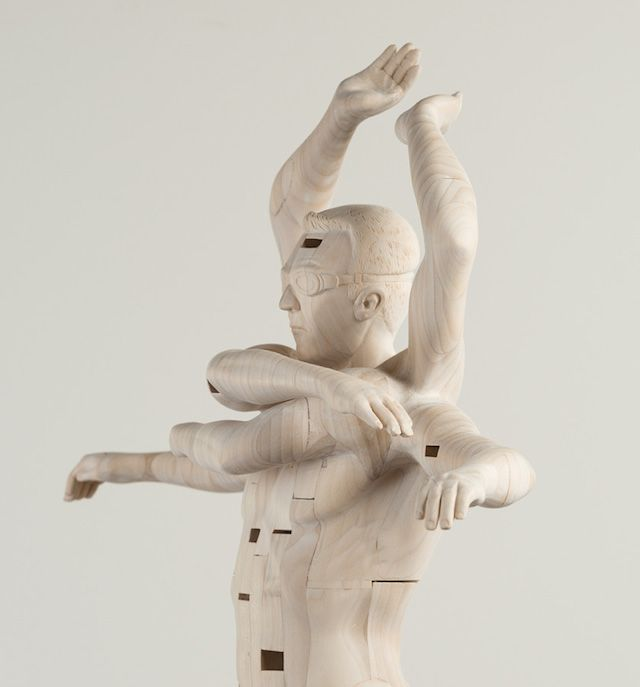 Wood Sculptures by Paul Kaptein 1