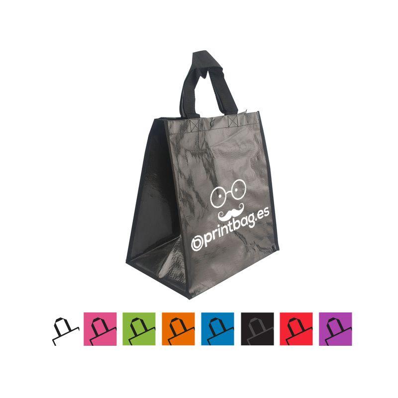 f7fad56dc Bolsas para supermercados, fruterias, ecológicas personalizadas negras.