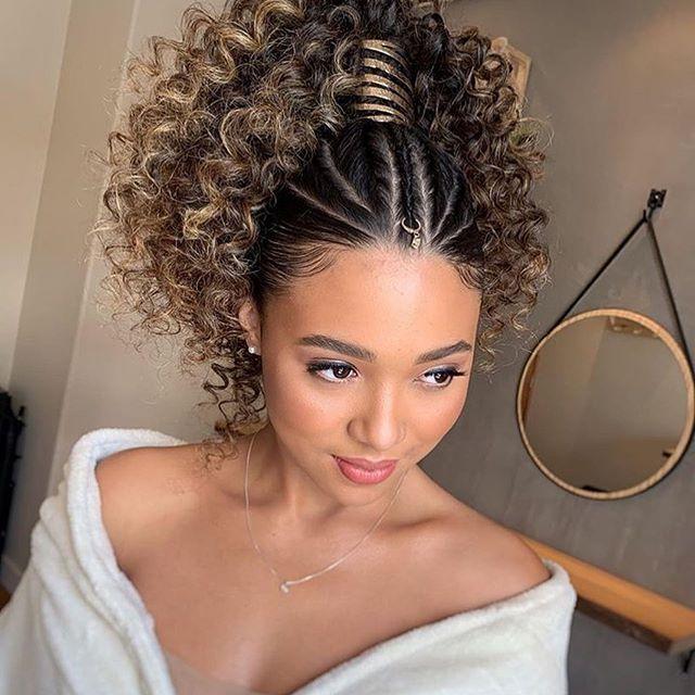 frisuren naturlocken | curly hair styles, beautiful curly